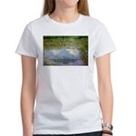 Monet Painting: Beauty Quote Women's T-Shirt