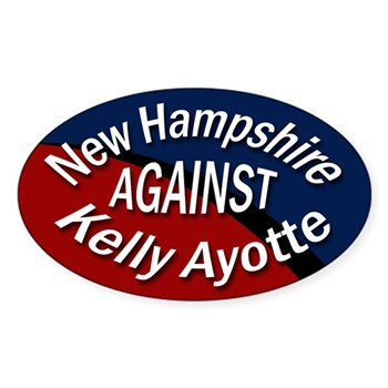 New Hampshire Against Kelly Ayotte bumper sticker