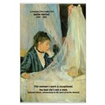 Female Artist Morisot Quote Large Poster