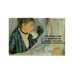 Female Artist Morisot Quote Rectangle Magnet (100
