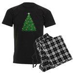 Celtic Christmas Tree Men's Dark Pajamas