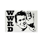 What Would Reagan Do Rectangle Magnet (100 pack)
