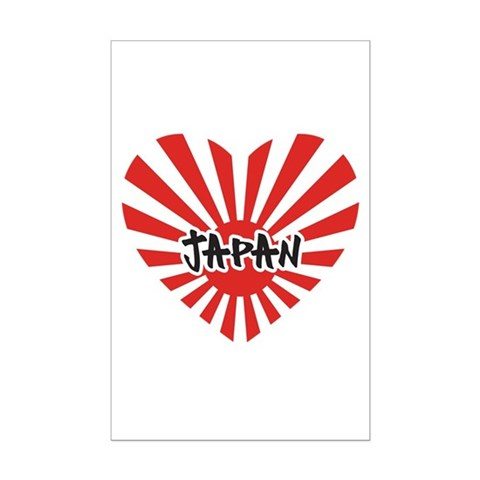 japan flag earthquake. Japan Heart Flag Heart Posters