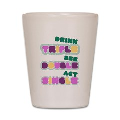 Funny Bachelorette Drinking Shot Glass