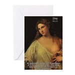 Titian Renaissance Master Greeting Cards (Package
