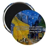 Vincent Van Gogh Color Art Magnet