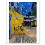 Vincent Van Gogh Color Art Small Poster