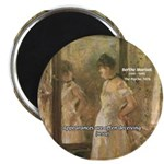"Aesop Quote Psyche Painting 2.25"" Magnet (10 pack)"