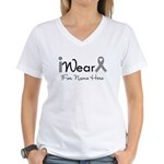 Personalize Diabetes Women's V-Neck T-Shirt