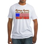Every Juan Go Home Fitted T-Shirt