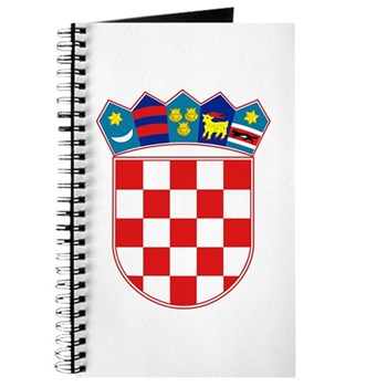 Croatia Coat of Arms - Roundel - History Clothing & Gifts - Journal