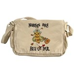 Nurses Are Bee-utiful Messenger Bag