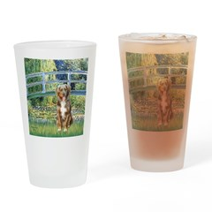 Bridge-Aussie Shep (#5) Drinking Glass