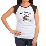 Best Rescue Lab Women's Cap Sleeve T-Shirt