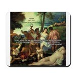Intoxication Nietzsche Art Mousepad