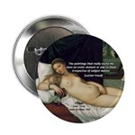 "Freud Erotic Quote and Titian 2.25"" Button (100 pack"