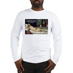Freud Erotic Quote and Titian Long Sleeve T-Shirt