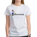 Piss On United Nations Women's T-Shirt