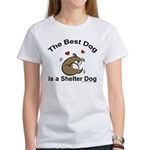 Best Shelter Dog Women's T-Shirt