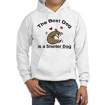 Best Shelter Dog Hooded Sweatshirt