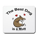 Best Mutt Dog Mousepad