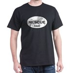 Rescue DAD Black T-Shirt