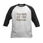Country Father of the Groom Kids Baseball Jersey