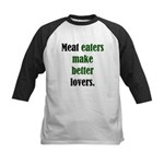 Meat Lovers Kids Baseball Jersey