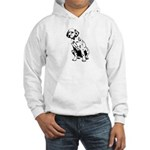 Dalmation Hooded Sweatshirt