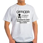 Compliance Officer Ash Grey T-Shirt