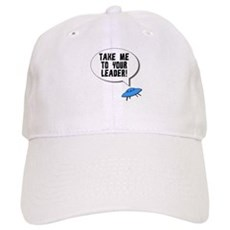 Take Me To Your Leader Cap