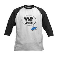 Take Me To Your Leader Kids Baseball Jersey