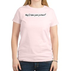 Gift for Photographer Women's Pink T-Shirt