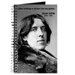 Playwright Oscar Wilde Journal