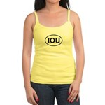 IOU European Oval Cheap Skate Jr. Spaghetti Tank