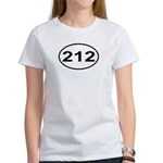 212 New York City Area Code Women's T-Shirt