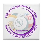 Official Bingo Lover's Coaster