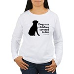 Dog Fur Children Women's Long Sleeve T-Shirt
