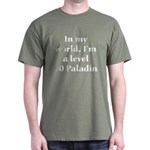 Level 60 Paladin Military Green T-Shirt