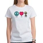 Peace Love & Labs Women's T-Shirt