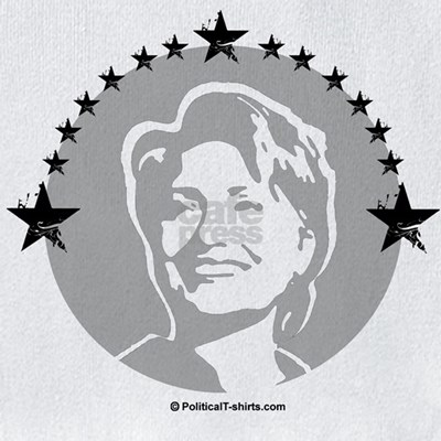 hillary clinton portrait. Hillary Clinton Portrait Bib. Hillary Clinton for President, 2008: Customize our democratic election designs on t-shirts, hoodies, stickers, buttons,