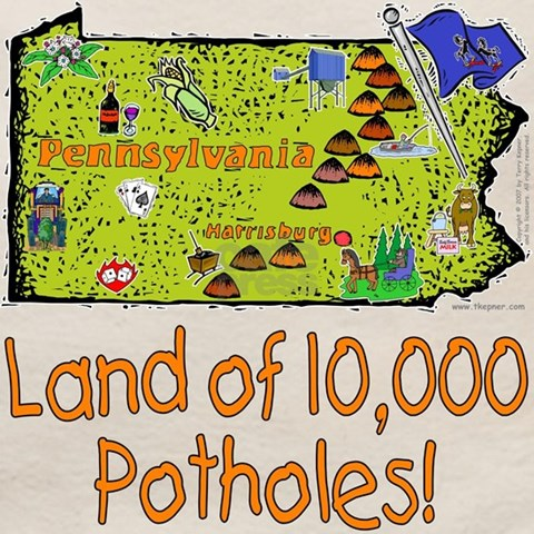 Pennsylvania potholes