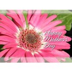 pink gerber daisy mother's day card