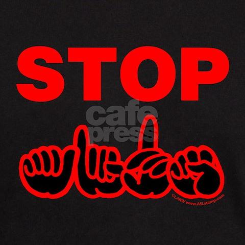 stop  aids t shirt