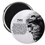 """Plato Truth Reality 2.25"""" Magnet (10 pack)"""