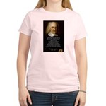 Thomas Hobbes: War Women's Pink T-Shirt