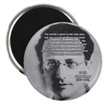 """Erwin Schrodinger One Reality 2.25"""" Magnet (100 pa"""