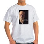 Charles Darwin: God Creation Ash Grey T-Shirt