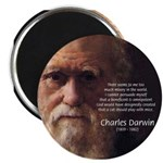 "Charles Darwin: God Creation 2.25"" Magnet (100 pac"