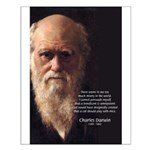 Charles Darwin: God Creation Small Poster